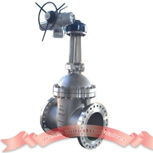CF8M electric gate valve