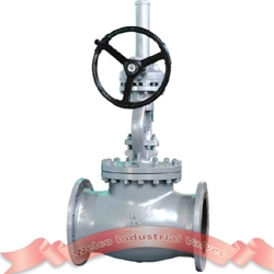 150Lb Globe valve with gear