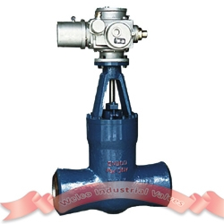 A217 alloy steel electric gate valve
