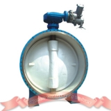 Cast iron motorized butterfly valve