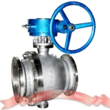 Duplex stainless cast steel ball valve