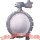 Electric triple offset butterfly valve