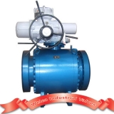 Electric forged steel ball valve