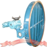 Motorized ventilation butterfly valve